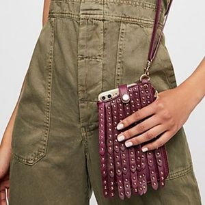 Free People Studded iPhone Wallet